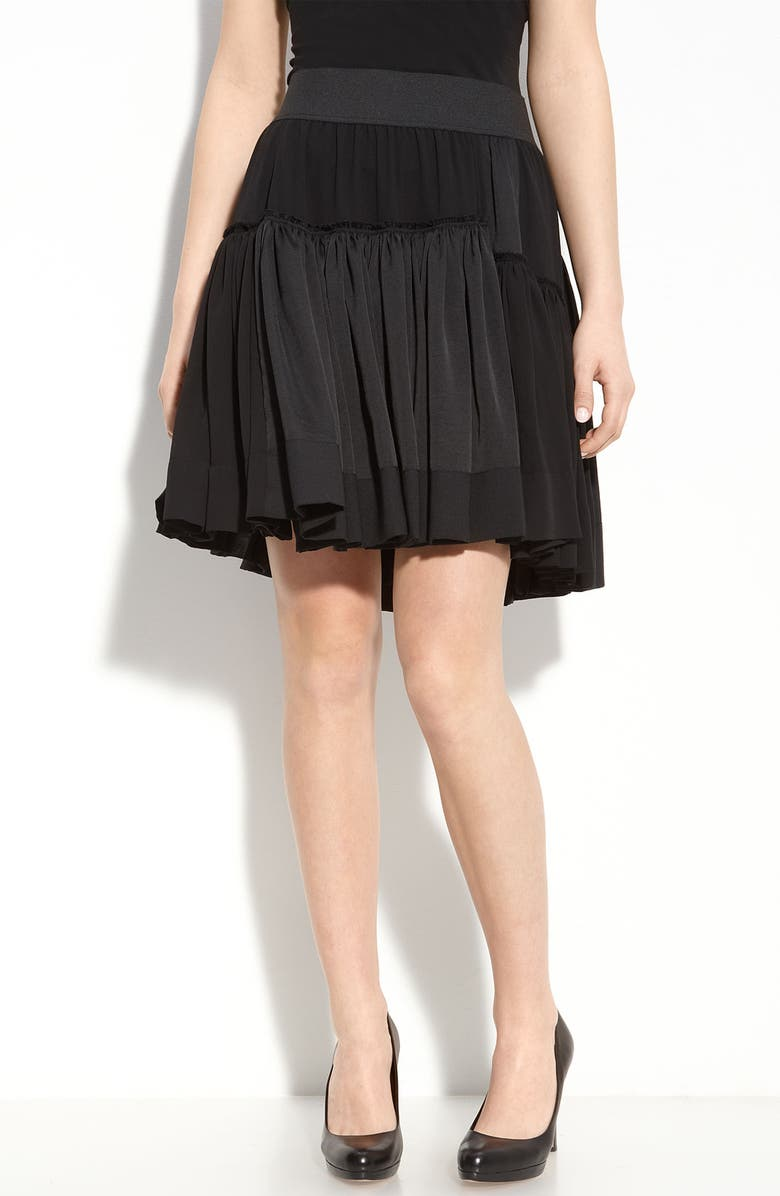 DKNYC Tiered Skirt, Main, color, 001