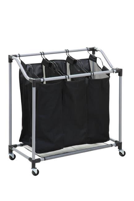 Image of Honey-Can-Do Elite Triple Laundry Sorter