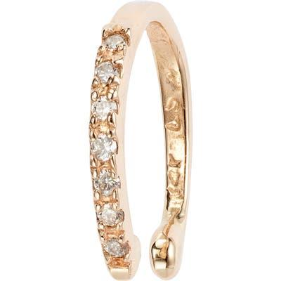 Loren Stewart Diamond Cuff Single Earring