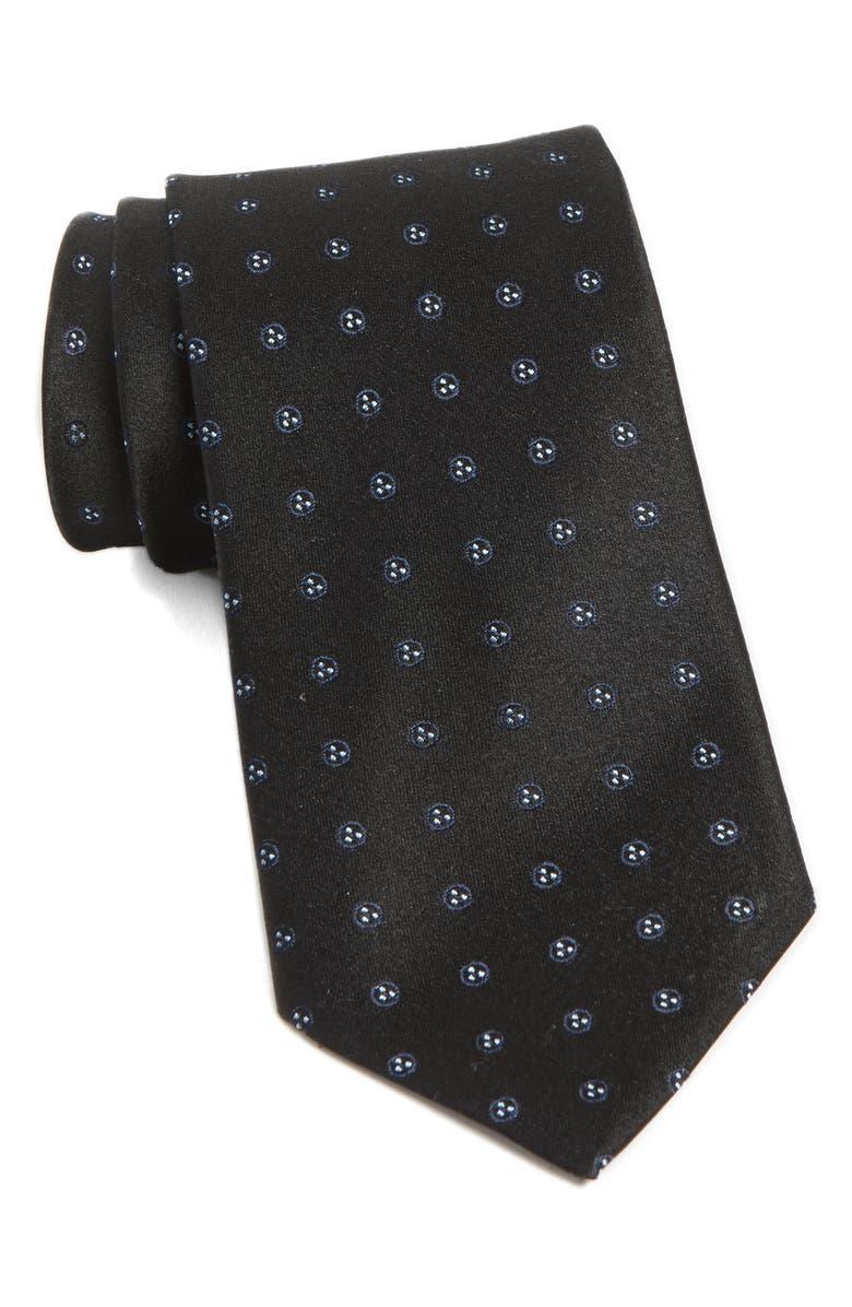JOHN VARVATOS STAR USA Medallion Silk Tie, Main, color, 414