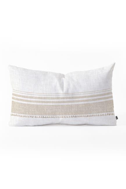 Image of Deny Designs Holli Zollinger French Linen Tassel Oblong Throw Pillow