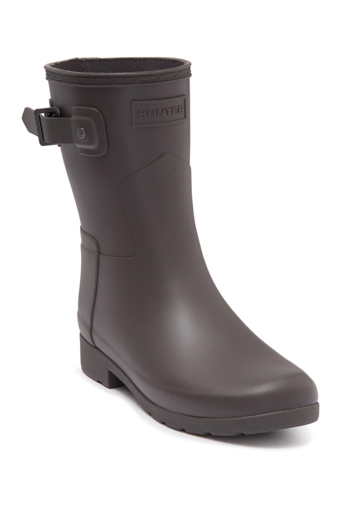 Image of Hunter Original Refined Short Waterproof Rain Boot