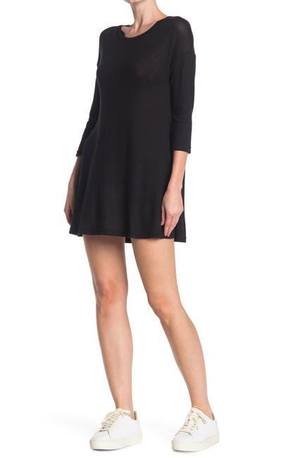 Image of Angie Quarter Sleeve Swing Dress
