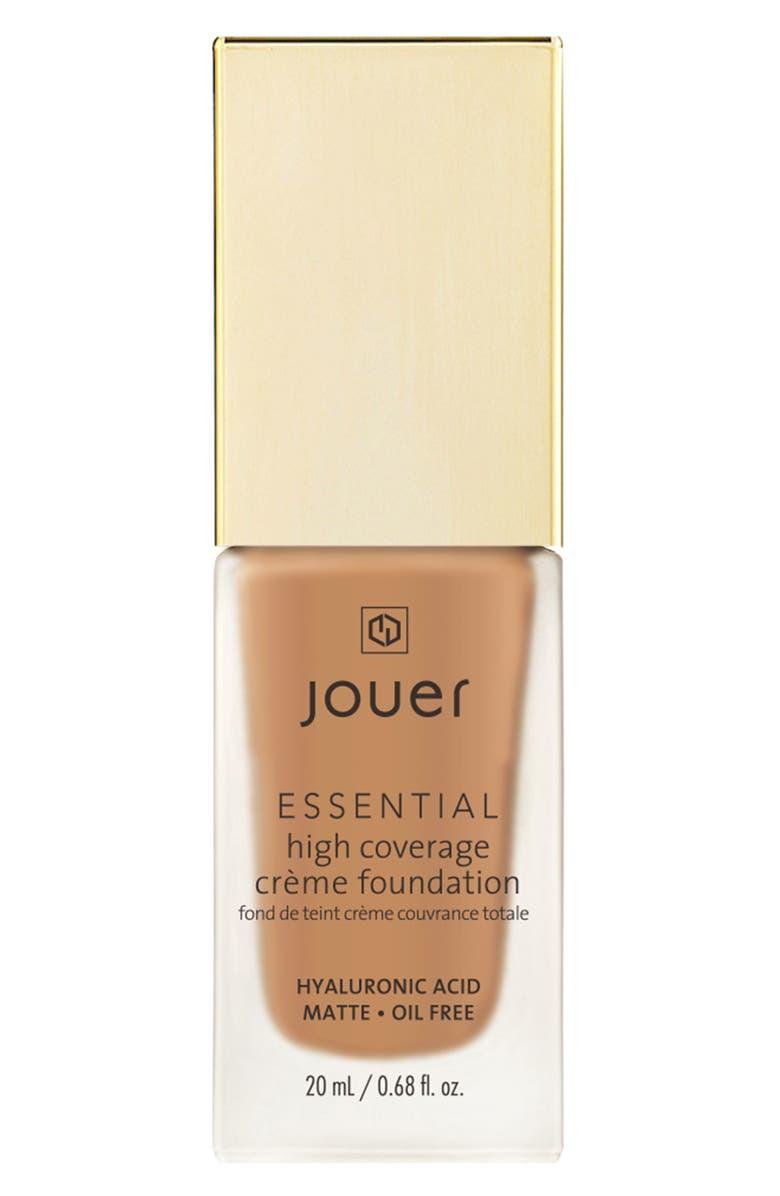 JOUER Essential High Coverage Crème Foundation, Main, color, CAFE
