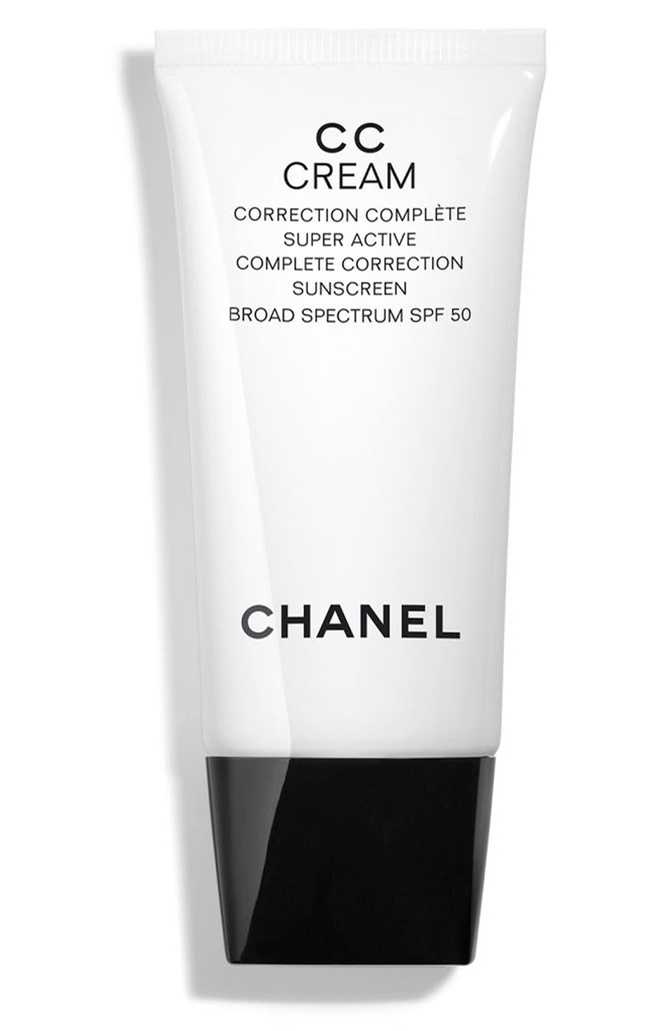 CHANEL CC CREAM Super Active Correction Complete Sunscreen SPF 50   Nordstrom