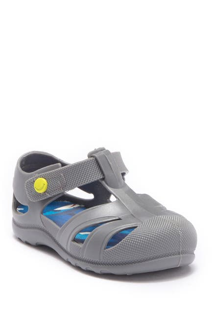 Image of Western Chief Playground Shark Swarm Sandal