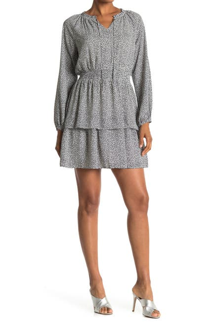 Image of Collective Concepts Long Sleeve Dress