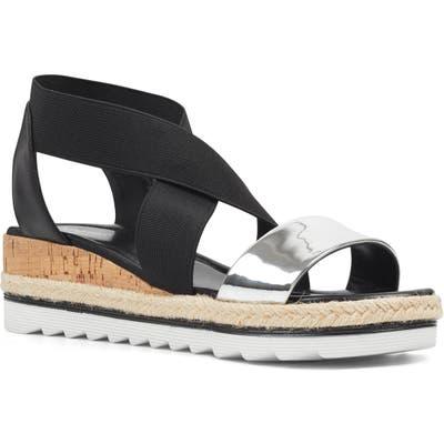 Nine West Molly Platform Sandal, Black