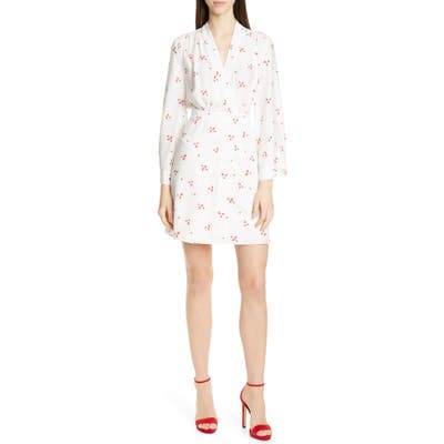 Equipment Allaire Long Sleeves Silk Dress, White