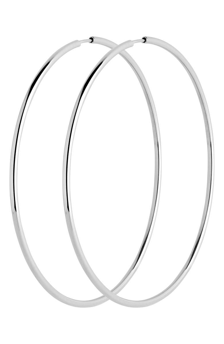 MARIA BLACK Senorita 70mm Endless Hoop Earrings, Main, color, 040