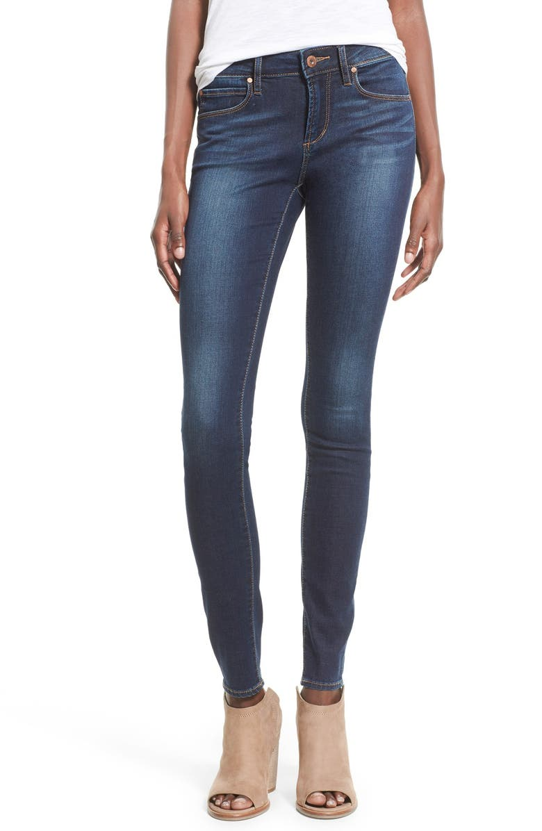 ARTICLES OF SOCIETY 'Mya' Skinny Jeans, Main, color, 405