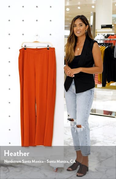 R29 x ELOQUII Wide Leg Knit Pants, sales video thumbnail