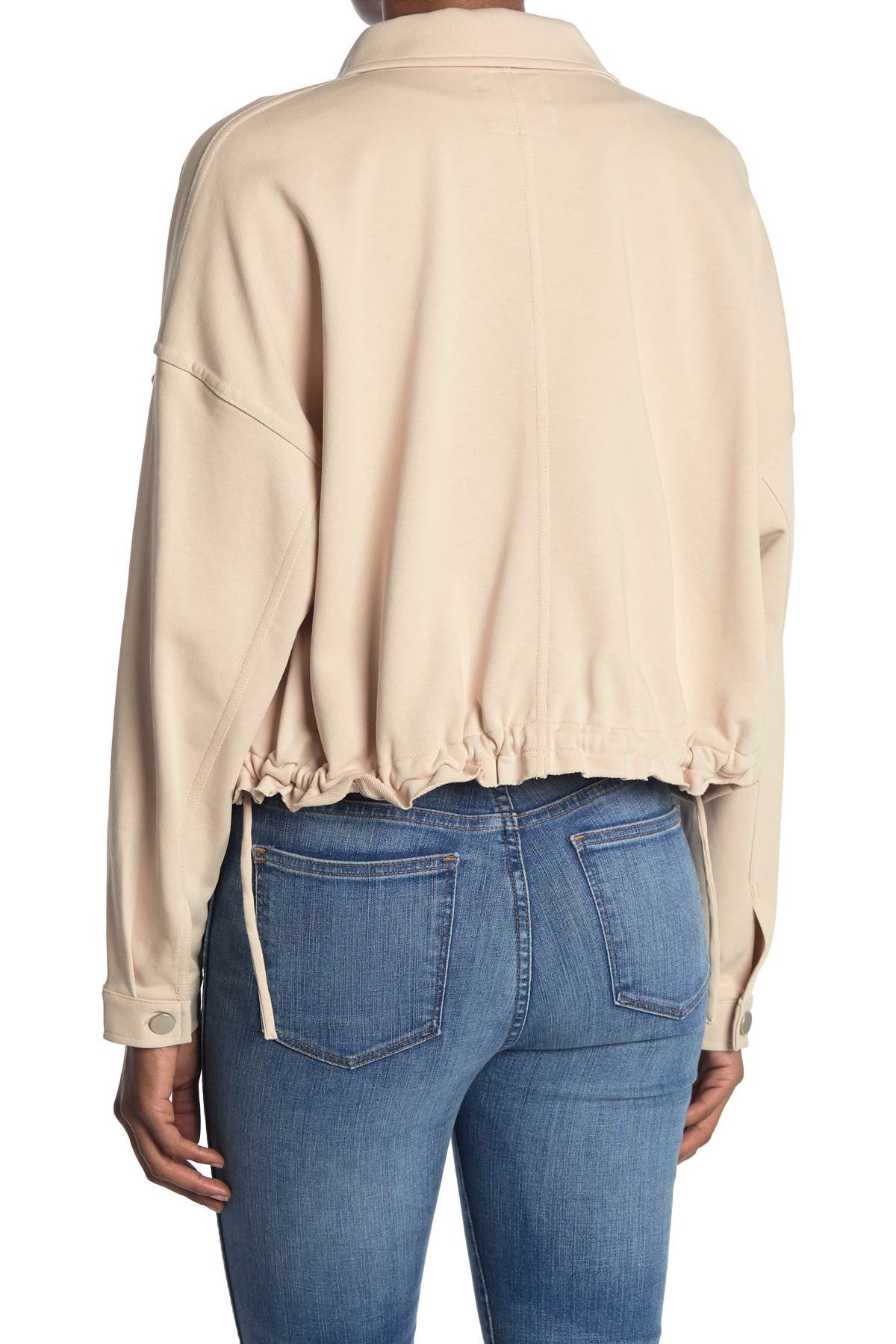 Image of Elodie Oversized Pocket Button Jacket