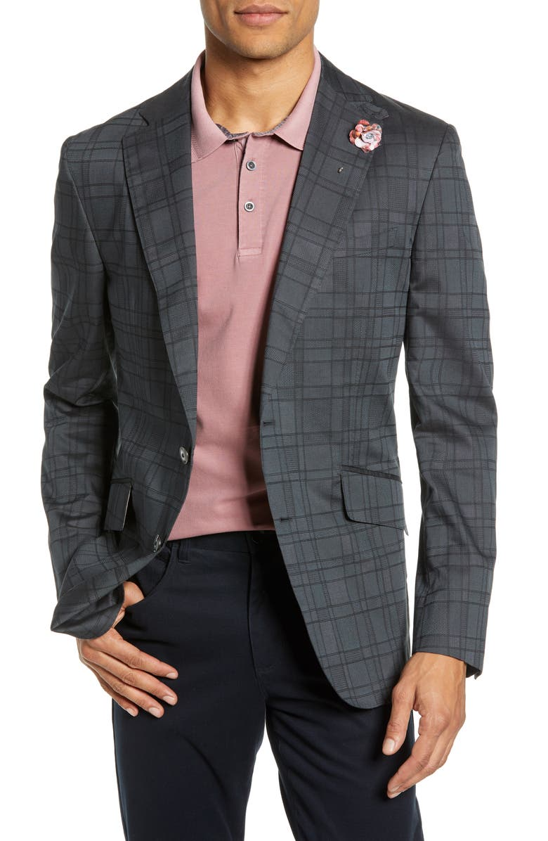 ROBERT GRAHAM Nestor Regular Fit Sport Coat, Main, color, 001