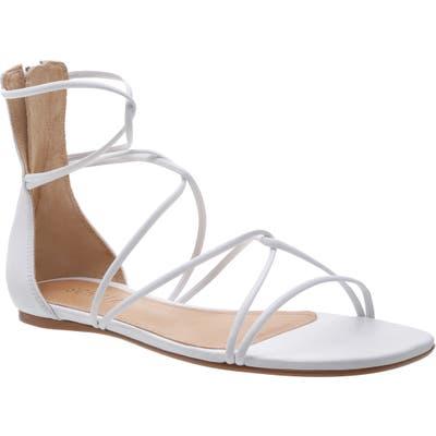 Schutz Fabia Strappy Sandal- White