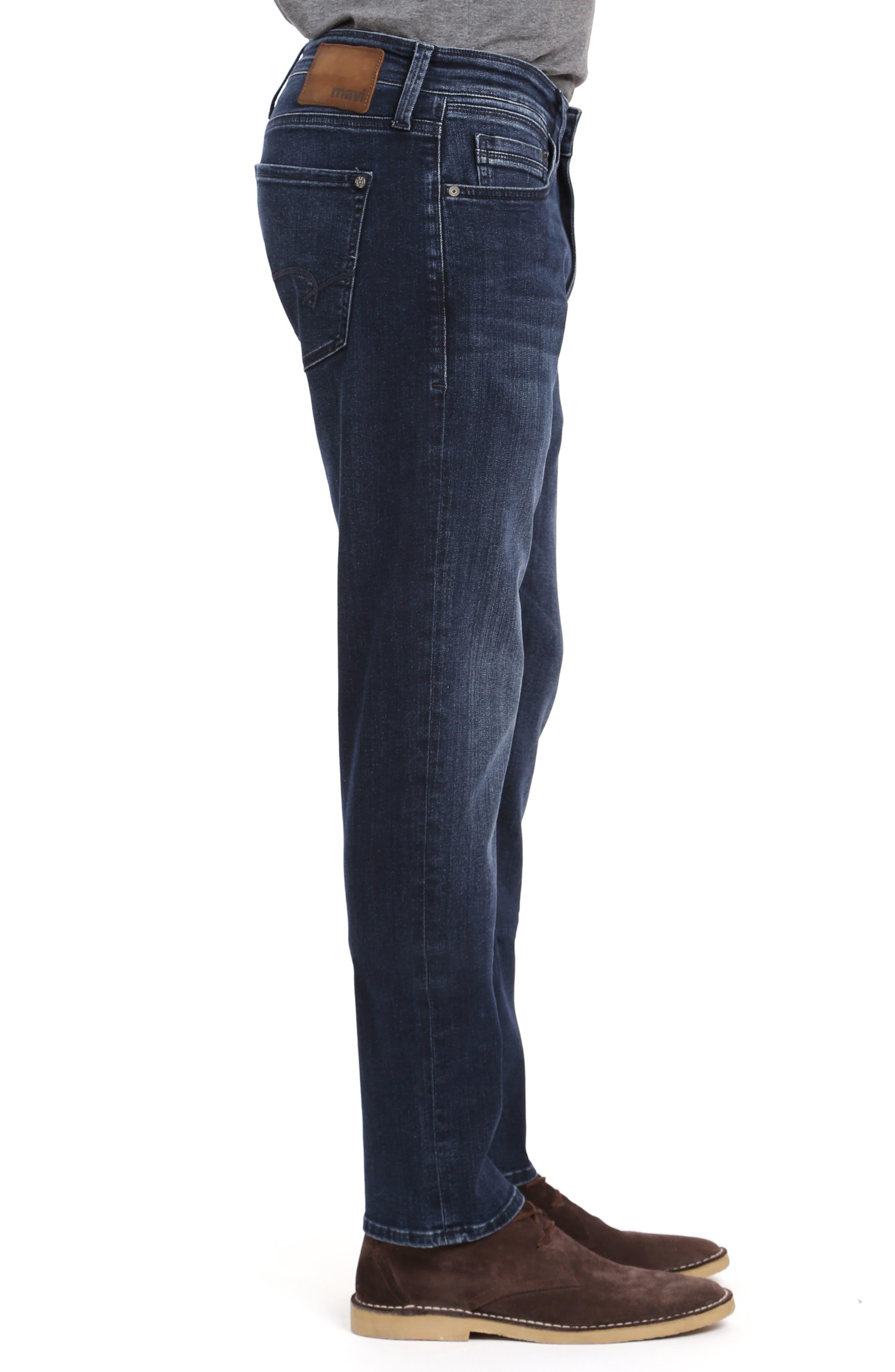 ,                             Marcus Slim Straight Leg Jeans,                             Alternate thumbnail 3, color,                             DARK SKY WILLIAMSBURG
