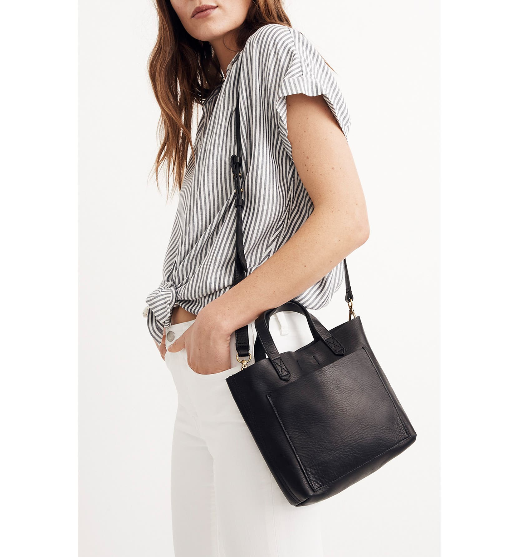 a9599cee1 Madewell Small Transport Leather Crossbody | Nordstrom