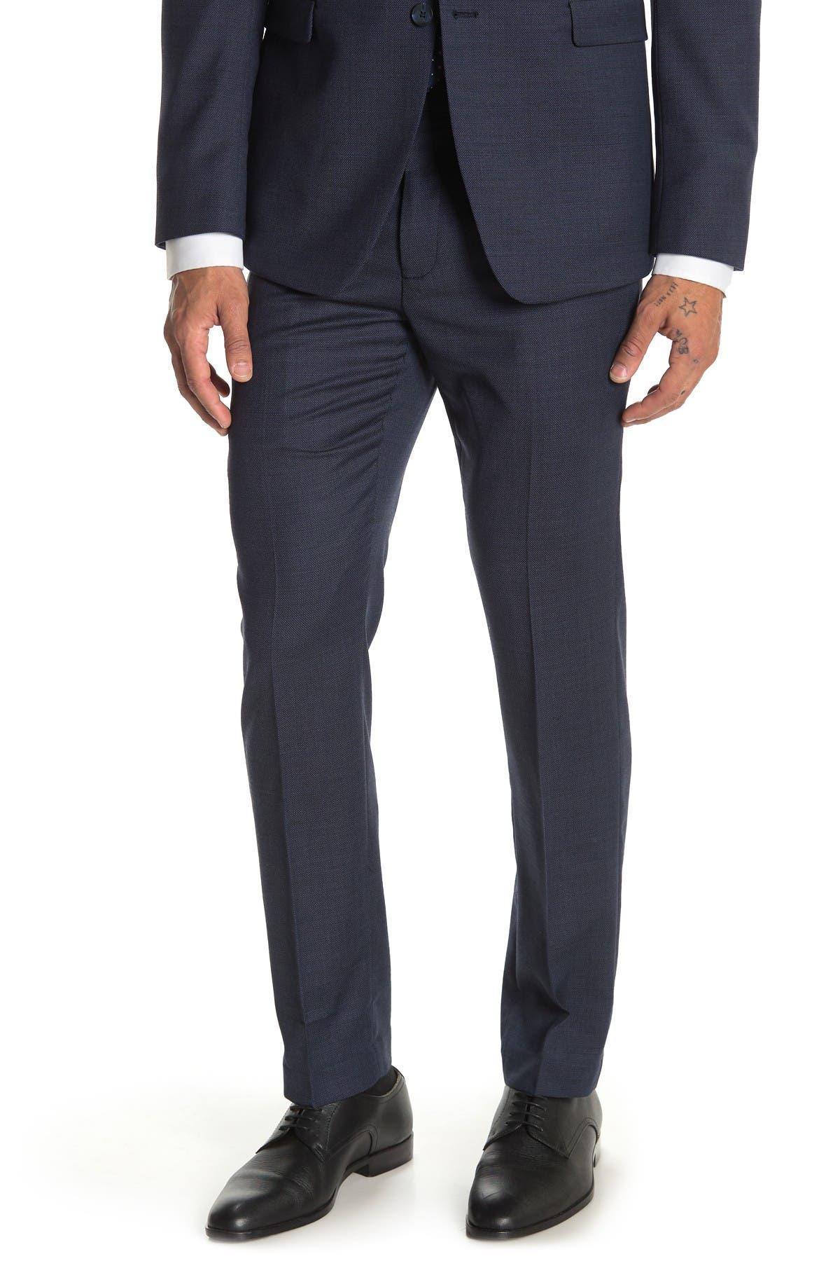 """Image of Original Penguin Birdeye Slim Fit Suit Separates Trousers - 30-34"""" Inseam"""