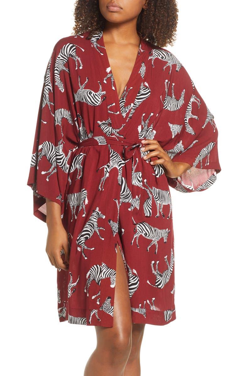 CHALMERS Ali Short Robe, Main, color, ZEBRA RED
