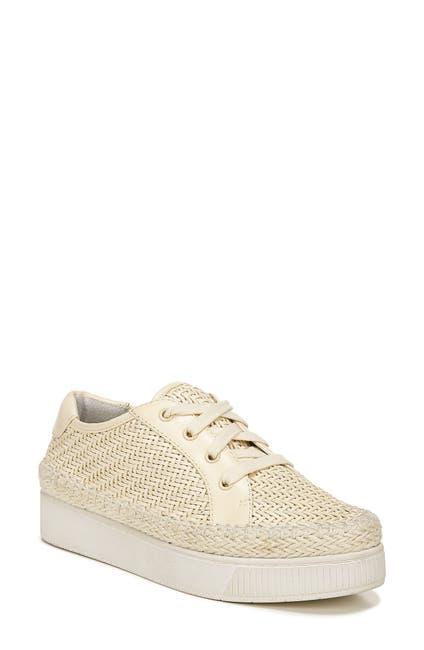 Image of Franco Sarto Hyria Woven Leather Platform Sneaker