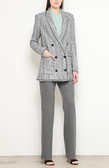 Ribbon Textured Inlay Knit Jacket, video thumbnail