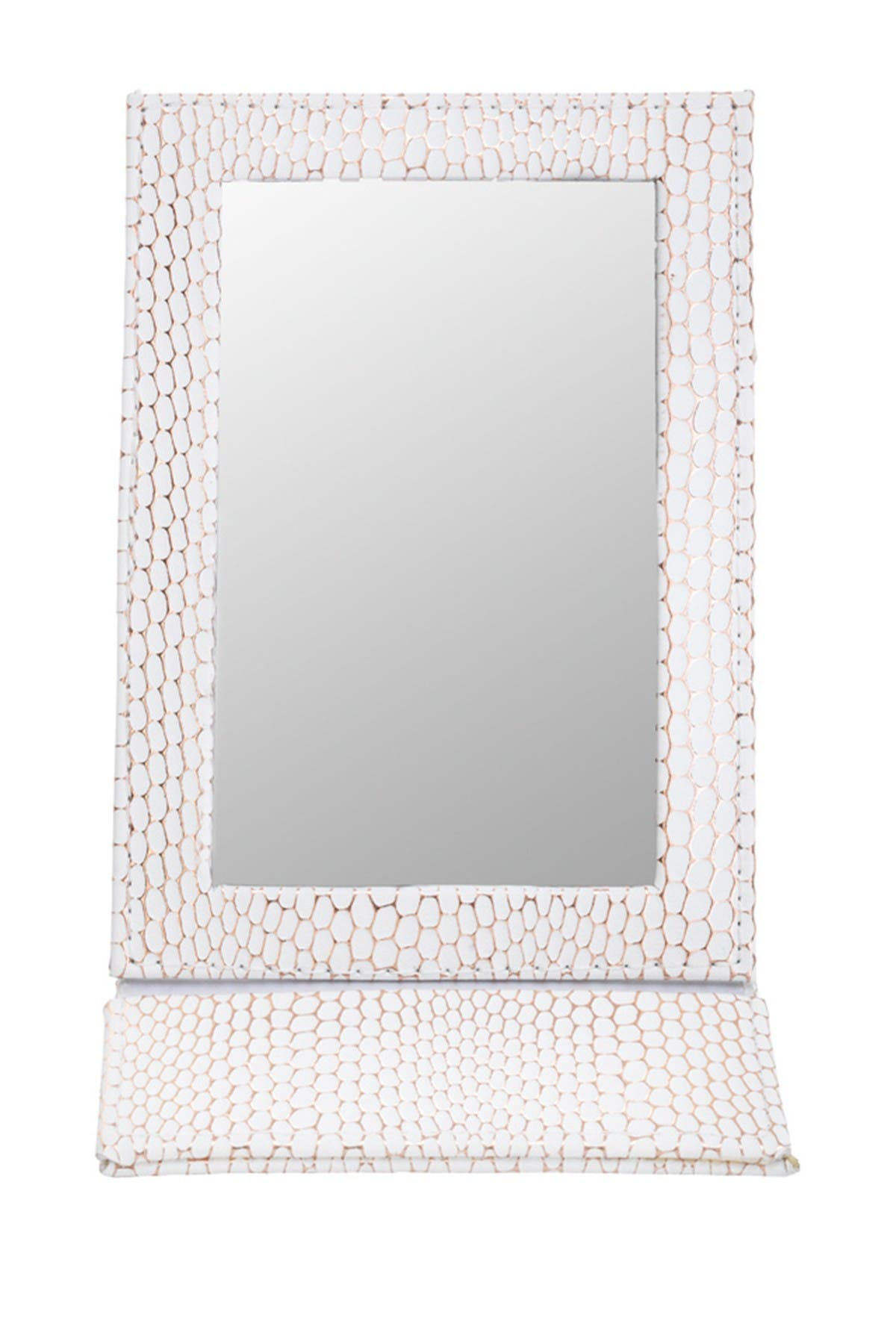 Stephanie Johnson Havana Folding Mirror - White