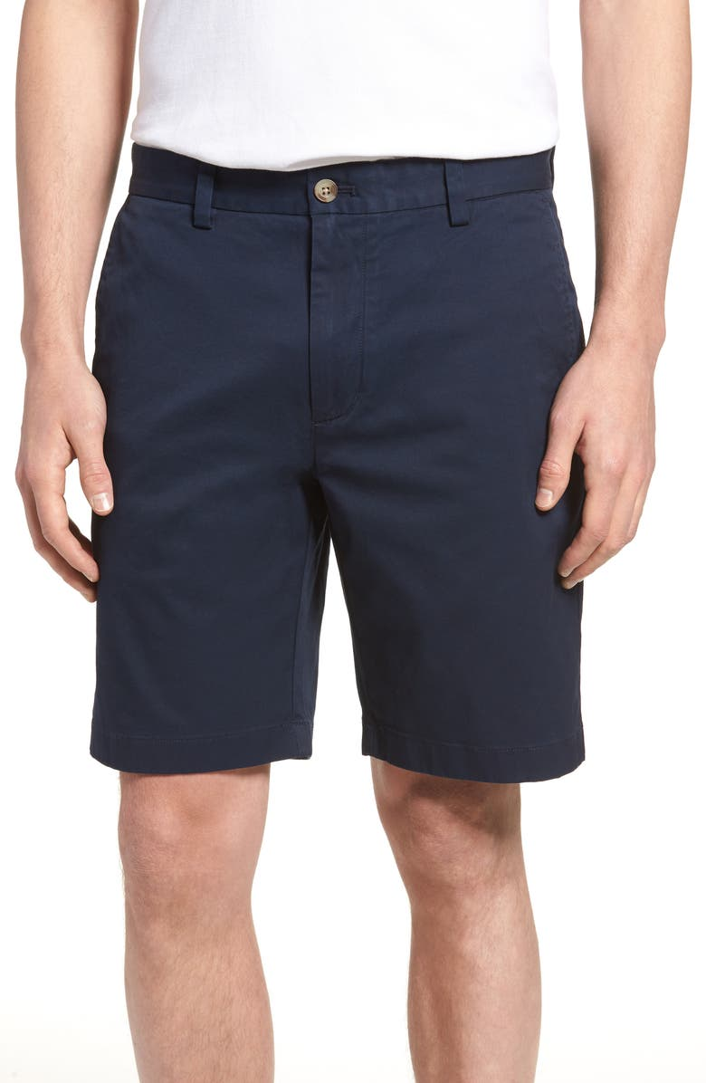 VINEYARD VINES 9 Inch Stretch Breaker Shorts, Main, color, VINEYARD NAVY