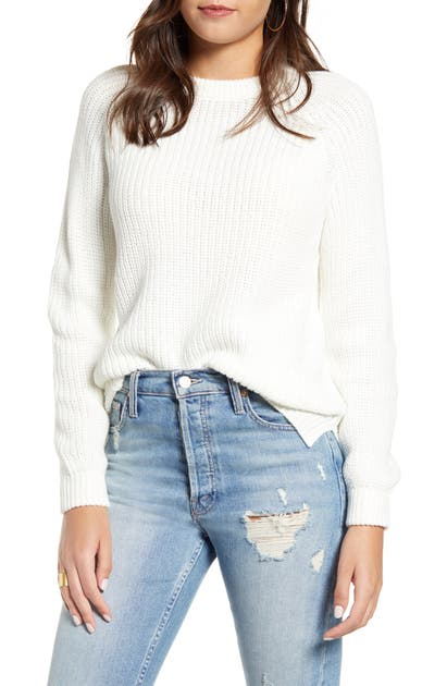 Vero Moda Sweaters SHAKER STITCH CREWNECK SWEATER