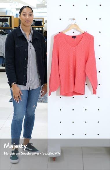 Blouson Sleeve V-Neck Sweater, sales video thumbnail