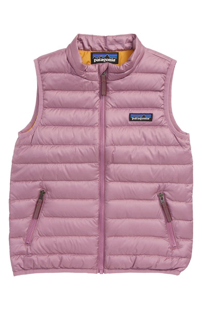 PATAGONIA 600-Fill Down Sweater Vest, Main, color, VERP VERBENA PURPLE