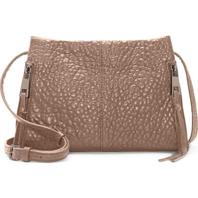 Vince Camuto Zani Leather Crossbody Bag - Grey
