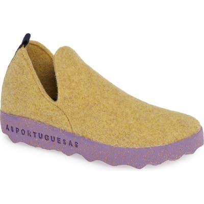 Asportuguesas By Fly London City Sneaker - Yellow