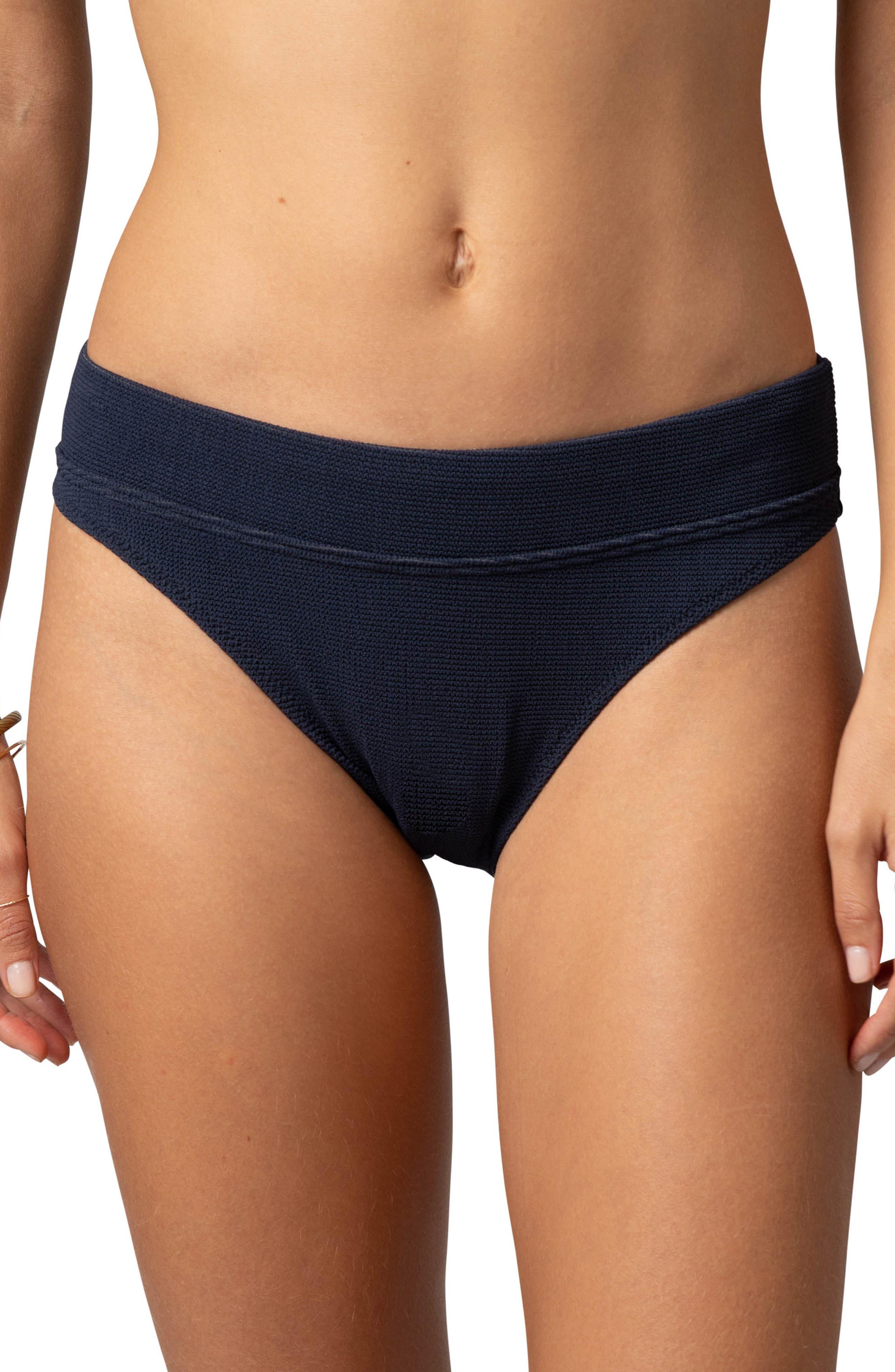Rip Curl Premium Surf High Waist Swim Bottoms, Blue