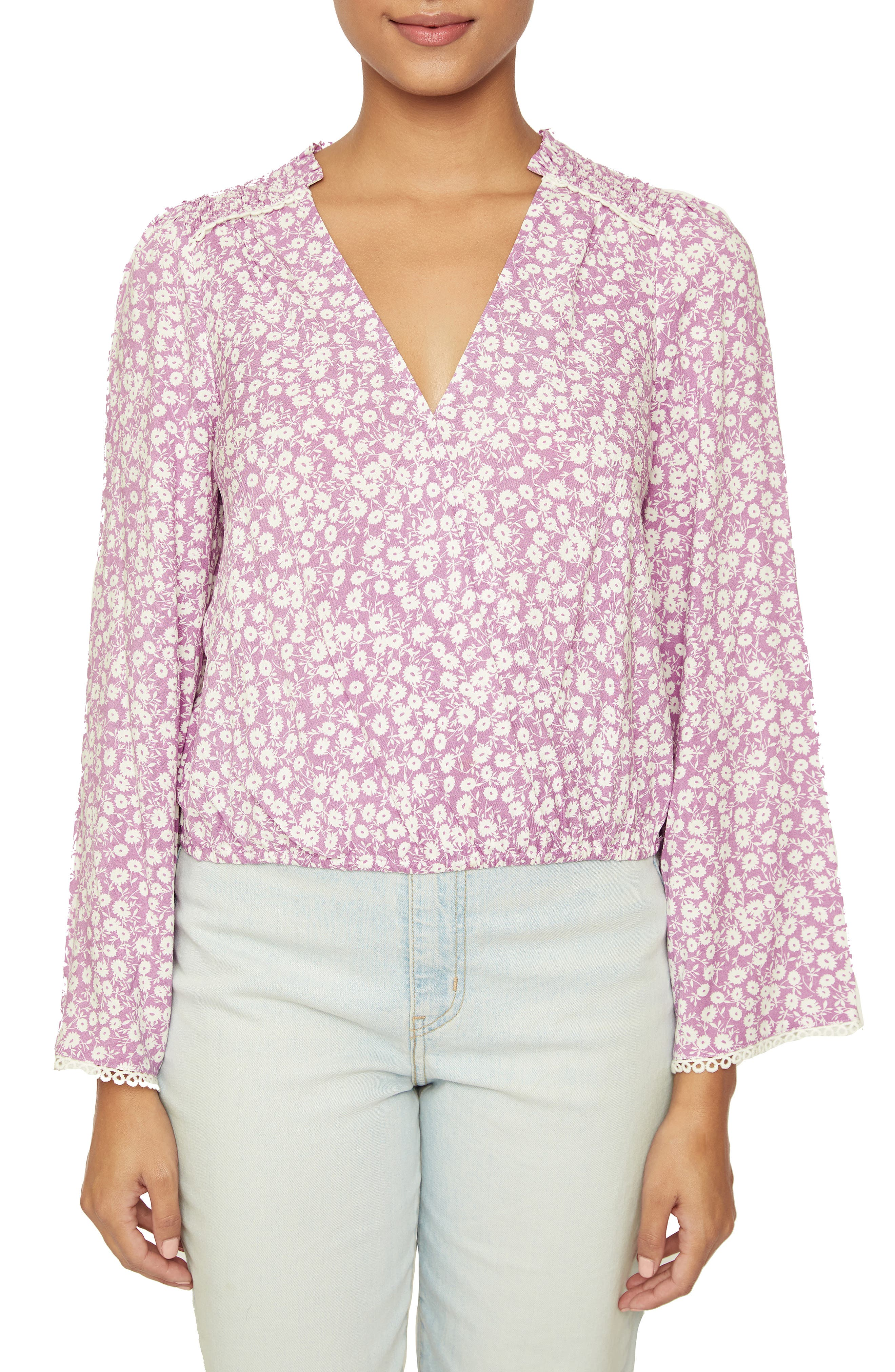 Women's Lost + Wander Vineyards In The Valley Floral Print Blouse