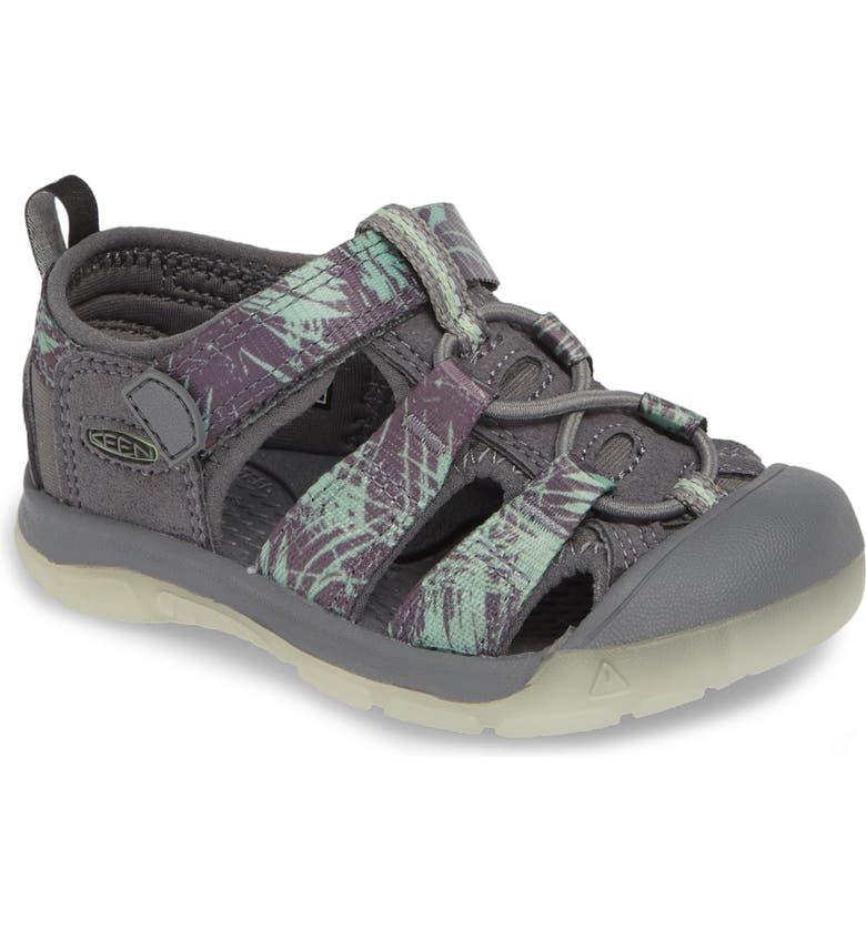 KEEN 'Newport H2' Water Friendly Sandal, Main, color, STEEL/ GLOW
