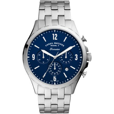 Fossil Forrester Chronograph Bracelet Watch, 4m