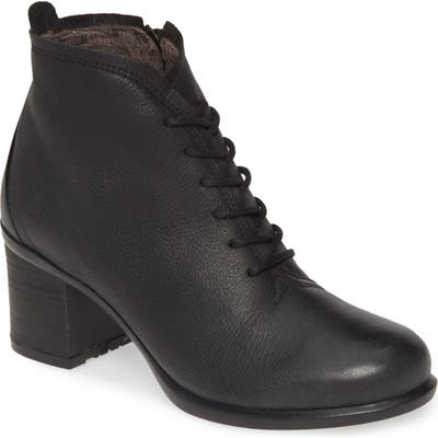Fly London Inet Round Toe Bootie - Black
