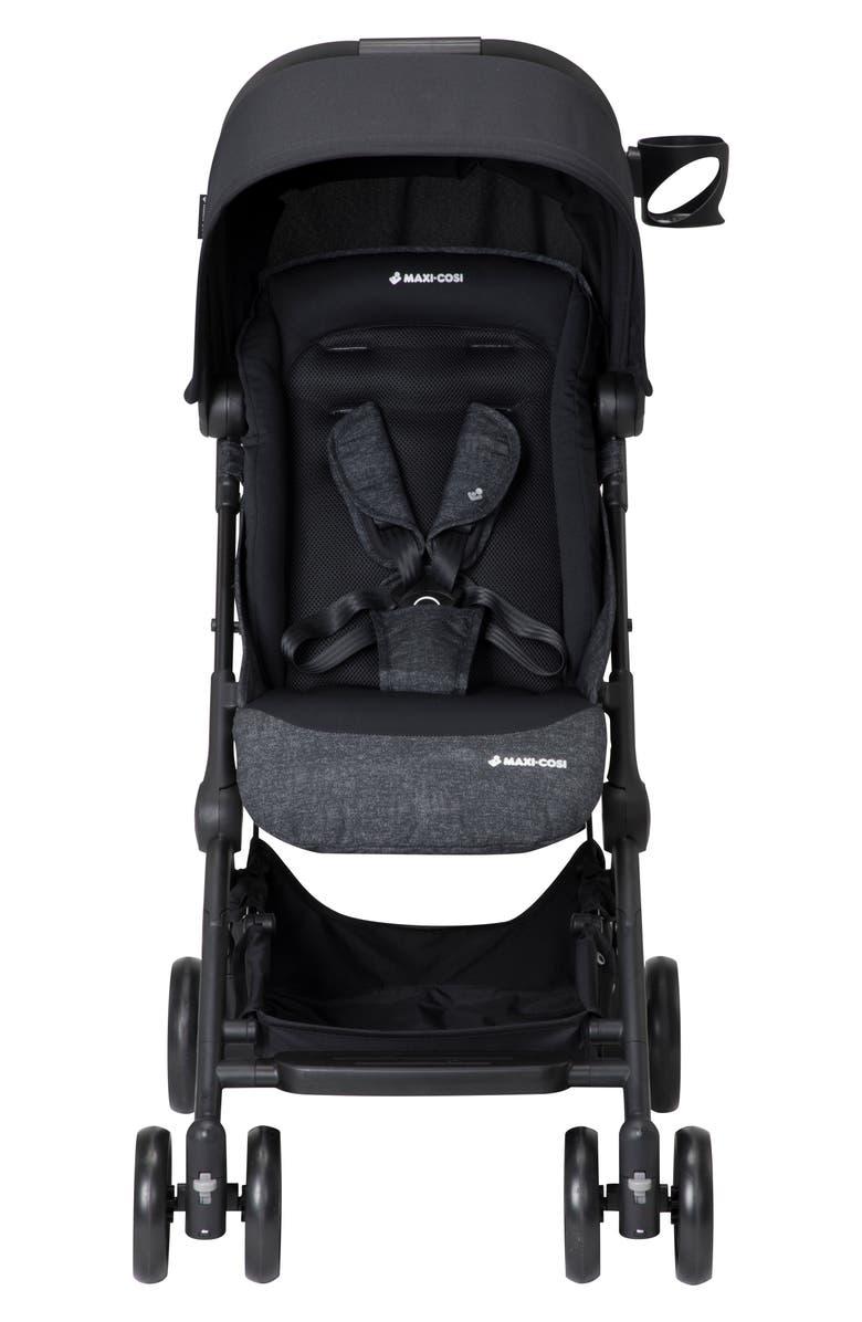 MAXI-COSI<SUP>®</SUP> Lara Ultra Compact Stroller, Main, color, NOMAD BLACK