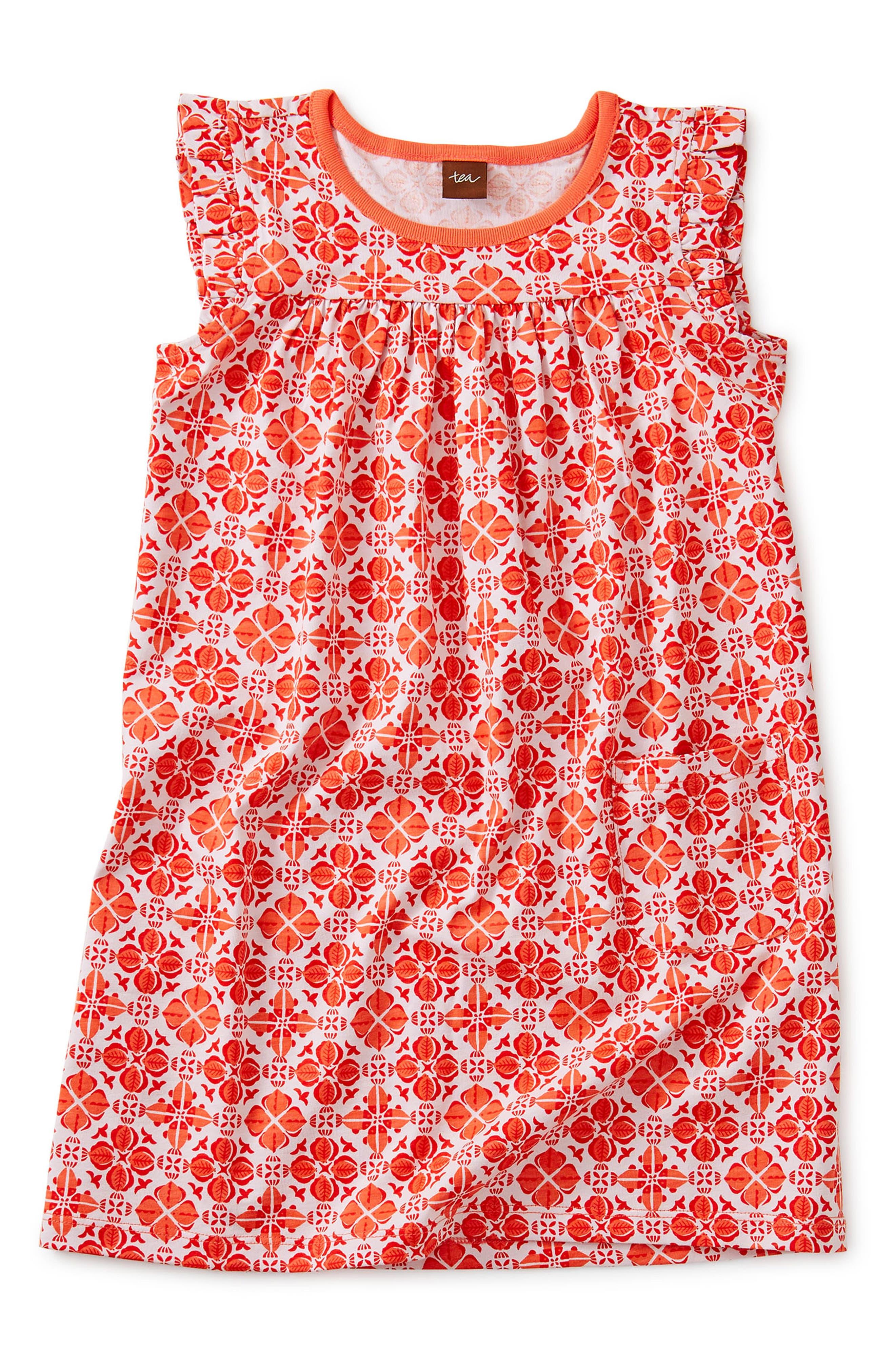 Image of Tea Collection Sea Print Mighty Mini Dress