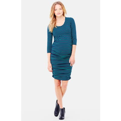 Ingrid & Isabel Shirred Maternity Dress