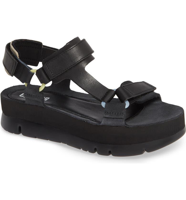 CAMPER Oruga Up Platform Sport Sandal, Main, color, 001