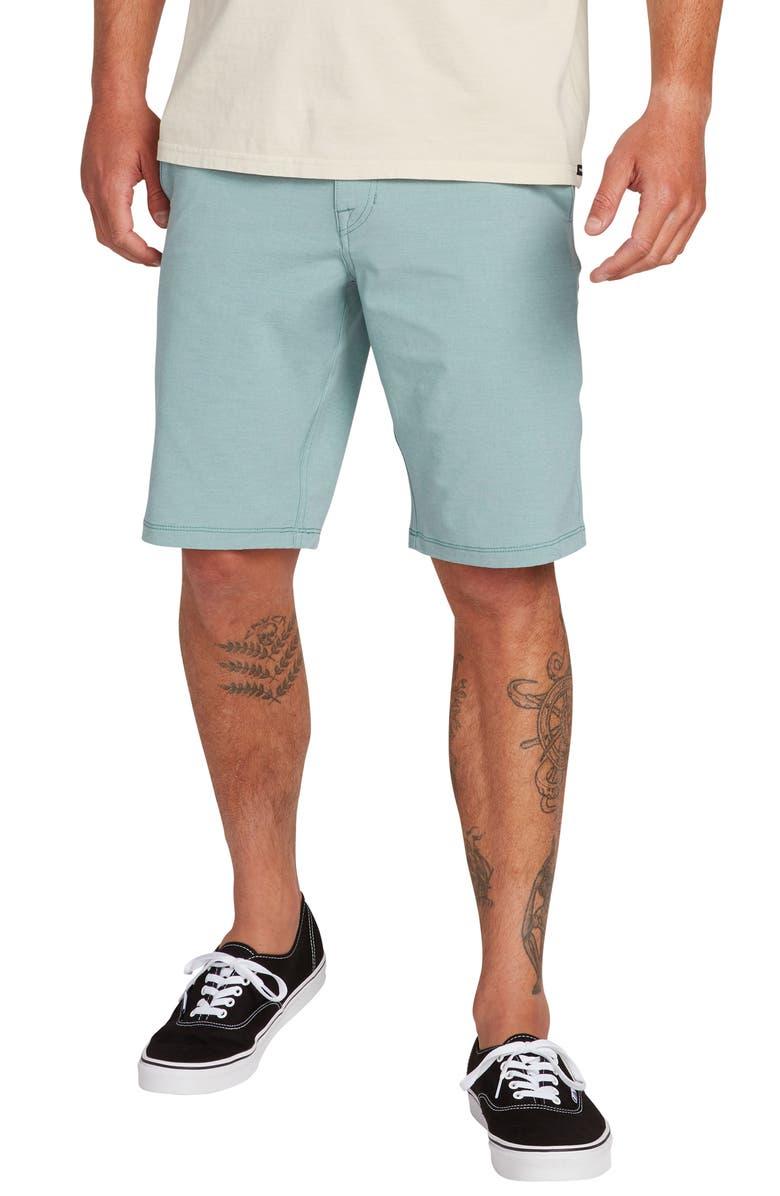 VOLCOM Hybrid Shorts, Main, color, AGAVE