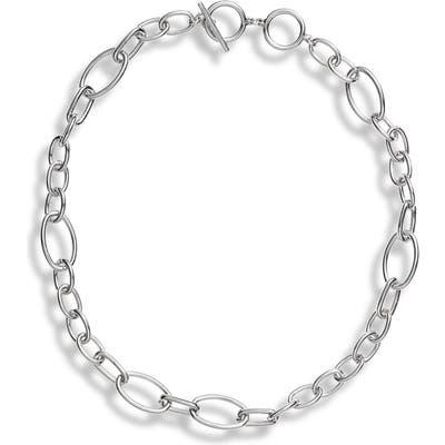 Halogen Chain Collar Necklace