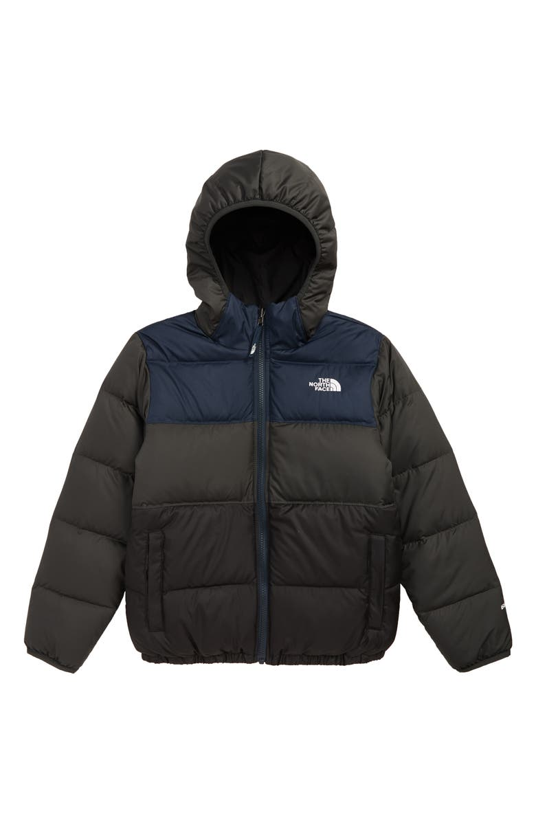 THE NORTH FACE 'Moondoggy' Water Repellent Reversible Down Jacket, Main, color, URBAN NAVY