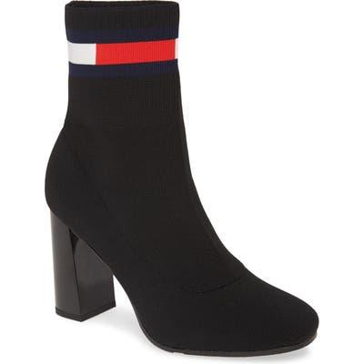 Tommy Jeans Zainab Sock Bootie - Black