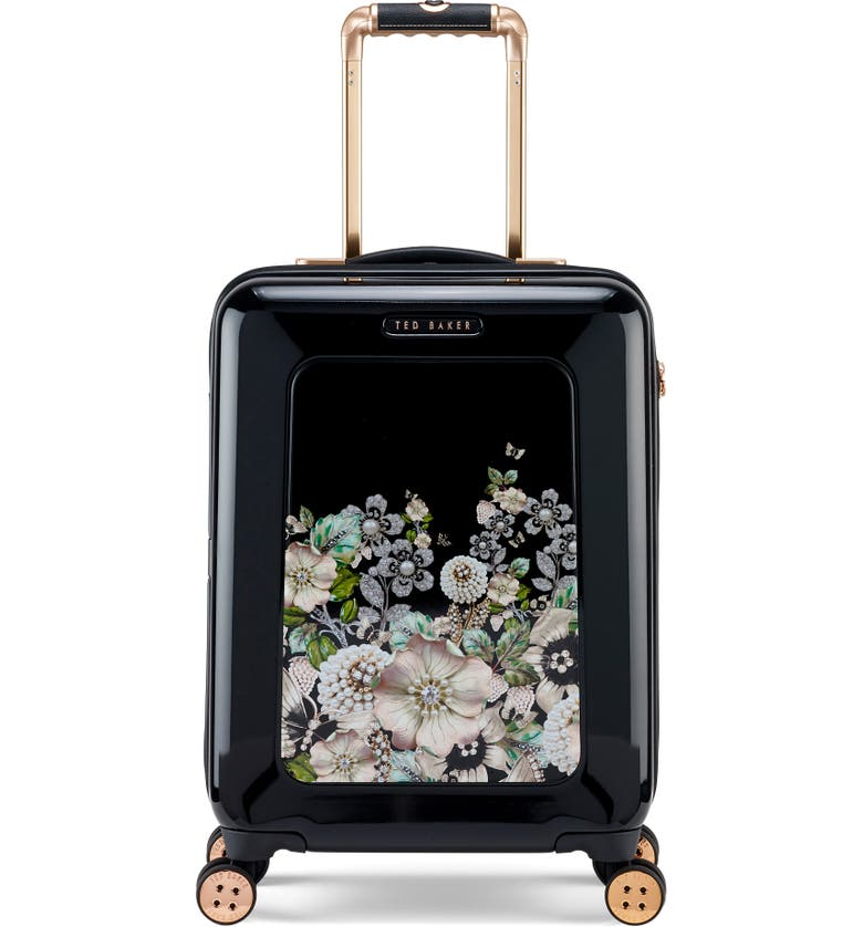 TED BAKER LONDON Small 21-Inch Four-Wheel Suitcase, Main, color, 001