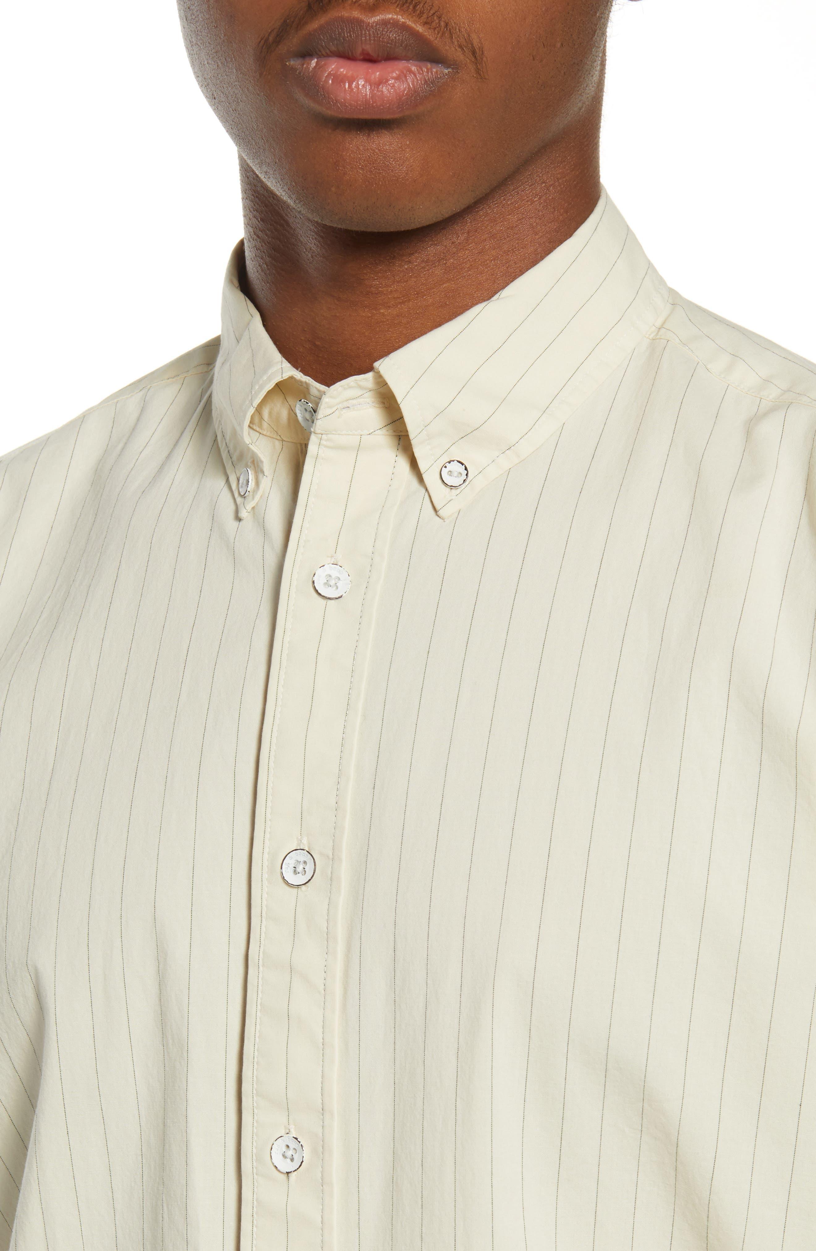 Rag & Bone Fit 2 Tomlin Slim Fit Stripe Button-Down Shirt