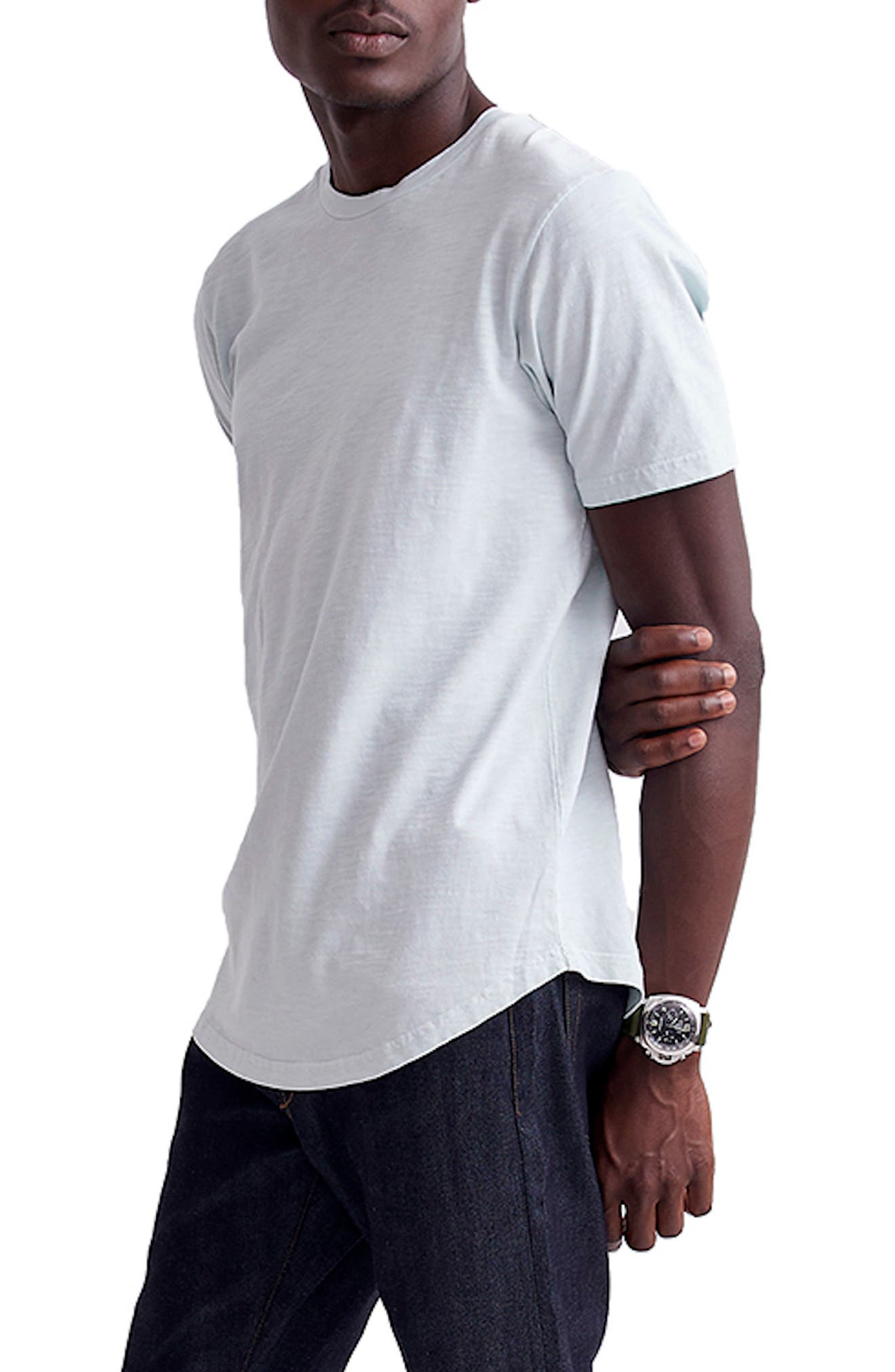 Image of Goodlife Scallop Slub Crew Neck T-Shirt
