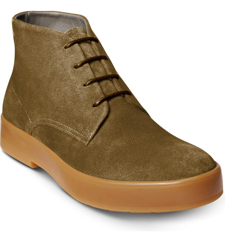 ALLEN EDMONDS Driggs Chukka Boot, Main, color, TAUPE SUEDE