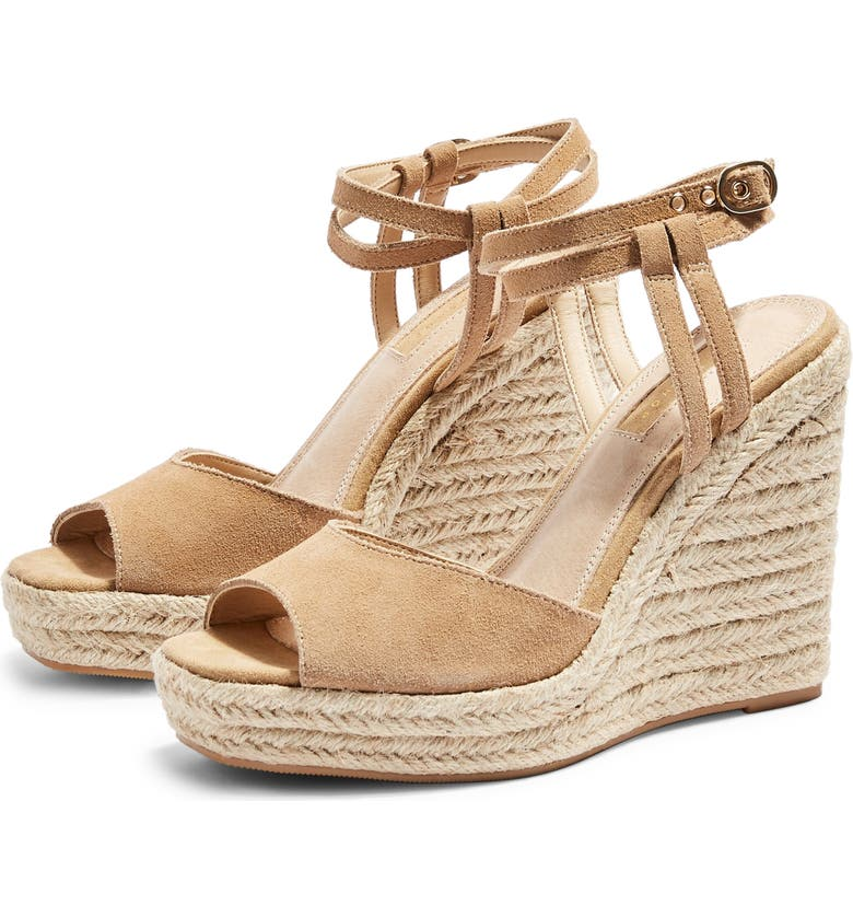 TOPSHOP Whitney Espadrille Wedge, Main, color, 250